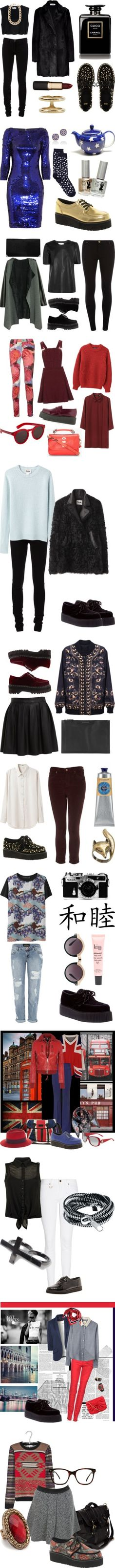 """""""What to Wear With Creeper Shoes"""" by polyvore-shopper on Polyvore"""