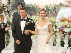 LOVE her dress - especially the back of it...... Brennan & Booths wedding picture 2013