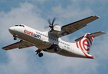 ATR 42-500 operado por Euro Lot