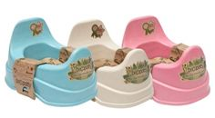 Beco Potty Bio-degradable  Our eco-friendly potties are made from waste plant material, so while they last for years in your home they will start biodegrading as soon as you pop them in your garden. Available in 3 colors beige,blue or pink.