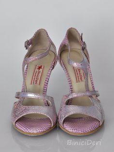 Women's tango shoe - Pale purple