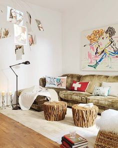 loft in Barcelona, via interior design design and decoration de casas design office Eclectic Living Room, Living Room Designs, Living Spaces, Living Rooms, Eclectic Decor, Living Area, Casa Loft, Loft House, Apartment Interior