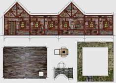 Old Stone Hut Paper Model - by Papermau - Download Now! - == - More one simple paper model in only one sheet of paper. This Stone Hut is a nice model for Dioramas, RPG and Wargames.