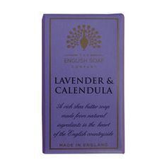 The English Soap Company Lavender and Calendula Bar Soap - Lilly's Bathcarry