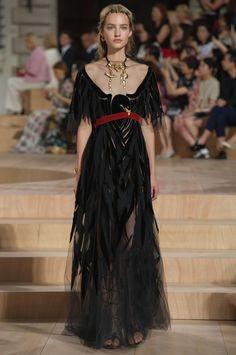 Raven dress-Défilé Valentino Automne-hiver 2015-2016