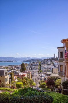 Northern California at Lombard Street, San Francisco #lombardstreet #sanfrancisco