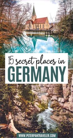 15 Secret Places in Germany. Check out these 15 Hidden Gems in Germany with amazing historical landmarks, beautiful natural landscapes, and global travel destinations . Hidden Gems in Germany | Germany Hidden Gems | Secret Spots in Germany | Secret Places in Germany | Pretty Places in Germany | Beautiful Places in Germany | Things to do in Germany | Germany Travel Guide | Germany Travel Tips | Best Things to see in Germany | #germany #traveltips #travel Lichtenstein Castle, Stuff To Do, Things To Do, Romantic Road, Small Lake, Historical Landmarks, European Vacation, Secret Places, Medieval Castle
