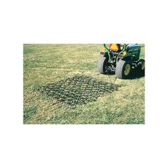 Mini Harrow Rake effectively levels dirt racing tracks, playing fields and more!