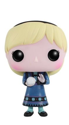 Your favorite character from Disney's hit movie Frozen is now rendered in the Pop! This Disney Frozen Young Elsa Pop! Vinyl Figure features the film protagonist as a 3 st Funko Pop Dolls, Figurines Funko Pop, Funko Toys, Disney Pop, Disney Frozen, Disney Stuff, Frozen Pop, Disney Land, Pop Vinyl Figures