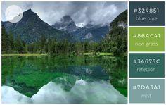 Playful Greens & Blues - Color makes a design come alive.