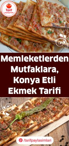 Around The World Food, Turkish Recipes, Homemade Beauty Products, Salad Recipes, Dinner Recipes, Health Fitness, Food And Drink, Pizza, Beef