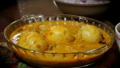 Egg Curry with Coconut Milk or Ground Coconut - Simple Kerala Style