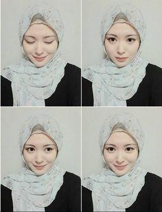 Profil Biodata Ayana Moon, Mualaf Asal Korea Yang Cantik Hijab Niqab, Happy Eid, Muslim Girls, Beautiful Hijab, Hijab Fashion, Beauty Women, Ulzzang, Asian Beauty, Beast