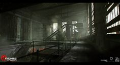ArtStation - Gears of War: Ultimate Edition - Act 5 Environment Concepts , Adam Baines