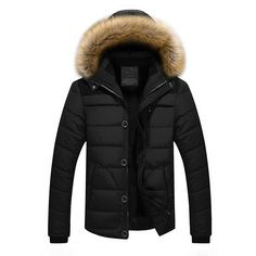2016 New Men Winter Jackets And Coats with fur Plus Size M-4XL 5XL 6XL 9581a7789