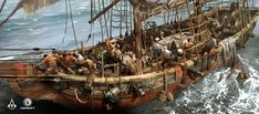 ArtStation - Assassin's Creed IV: Black Flag - Gameplay concept, TEO YONG JIN