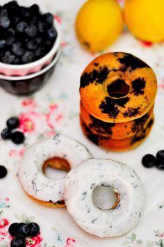 OBSESIÓN CUPCAKE: Donuts Fitness de Arándanos y Limón