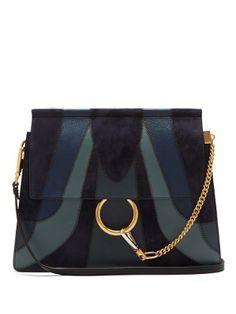 Faye medium patchwork leather shoulder bag | Chloé | MATCHESFASHION.COM