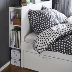 IKEA Česká republika Tato stránka se mi už líbí · 1hod · Upraveno ·    BRIMNES, rám postele s úložným prostorem. 4 velké úložné zásuvky poskytnou další prostor pod postelí. http://www.ikea.com/cz/cs/catalog/products/S19099157/