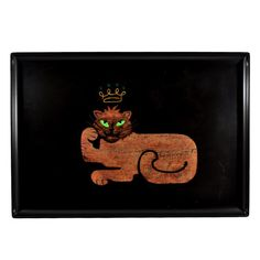 Couroc Crowned Cat Tray
