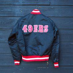 80's 49ers jacket