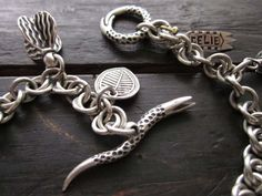 Examples of toggle clasps made with polymer clay.
