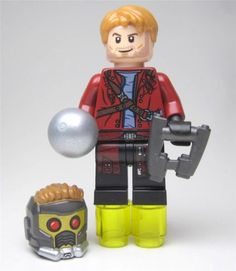 LEGO-76019-Guardians-of-the-Galaxy-STAR-LORD-Open-Jacket-Minifigure-NEW