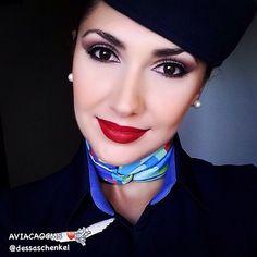Blue Angel Andressa sempre maravilhosa! Bons céus ❤️✈️ #crewlife #future #flightattendant  #aeromoças #aeromoça #stewardess #comissáriadebordo #azullinhasaereas #fly #revistatripulante #aero #tripulantes #aviacaocms #voeazul #flyaway #comissariasdevoo #azul #blueangel #cabincrew