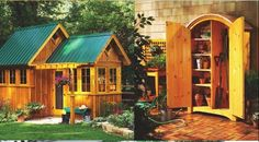 108 Free DIY Shed Plans And Ideas That Are Easy To Build On Your Homestead - http://www.homesteadingfreedom.com/108-free-diy-shed-plans-and-ideas-that-are-easy-to-build-on-your-homestead/
