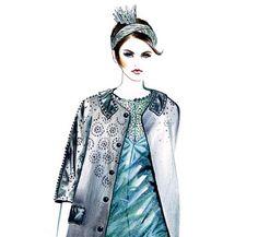 Runway Fashion Illustration - Marc Jacobs