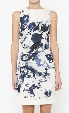 Thakoon Blue And White Dress | VAUNTE, size 6. $350, down from $1150. js