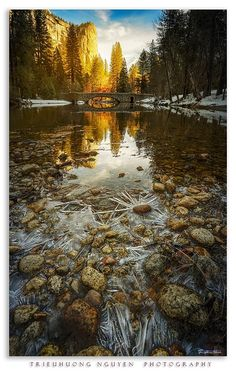 Stoneman Bridge (Yosemite, California) by TrieuHuong Nguyen / - luisa Beautiful World, Beautiful Images, Yosemite National Park, National Parks, Scenic Photography, Beauty Photography, Best Photographers, Vacation Trips, Vacations