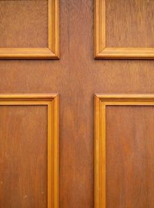 How to Use Decorative Moldings to Dress Up a Plain Panel Door