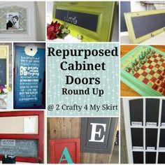 Repurposed Cabinet Doors