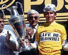 LUCHO HERRERA.1987. Vintage Cycles, Grand Tour, Road Racing, Bmx, Sport, Bicycle, Mexico, Group, Live