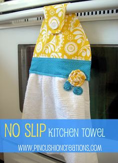 Made to be a Momma. : No Slip Kitchen Towel