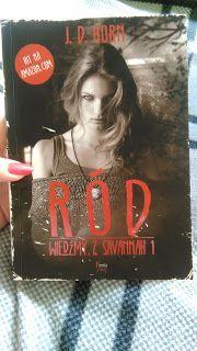 "♥Wellcome in my books World ♥: ""Ród""-Wiedźmy z Savannah 1  J.D.Horn"