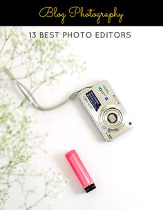 Want to spruce up your blog photos with a little bit of editing? Here is a list of 13 BEST EDITING TOOLS (Paid + FREE)for editing your blog photos!