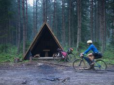 After years of touring North America by mountain bike, Nick and...