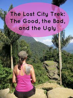 The Lost City Trek in Santa Marta, Colombia (Ciudad Perdida in Spanish)...the pros and cons.