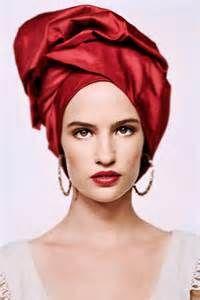 turbans de la fashion week -