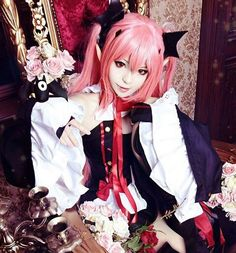 owari no seraph, cosplay, and ons image