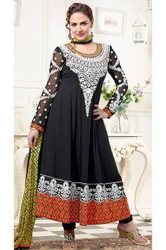 Designer Long Anarkali Dress Material