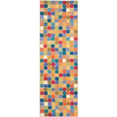 Safavieh Soho Fortuna Wool Runner Rug, Multicolor