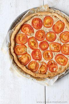 Tuna Tomato Tart