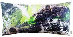 #salamander #inthewater #photography #cushion // #feuersalamander #imwasser #fotographie #kissen