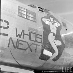"""B-24 Liberator - """"Who's Next?""""."""