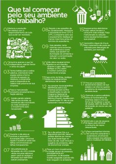 Dicas para preservar o planeta no seu local de trabalho... Reduce Reuse Recycle, Upcycle, Environmental Engineering, Science Fair Projects, Urban Farming, Change The World, Sustainability, Planets, Recycling