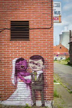 Street Art in Doel, Belgium
