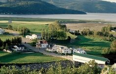 Travel the Fjord Route (Route du Fjord) by car or bike or even on foot! Take in the Saguenay fjord, a Canada, Beautiful Scenery, Beautiful Places, Great Places, Places To Visit, Canadian French, Lac Saint Jean, Destinations, Fjord